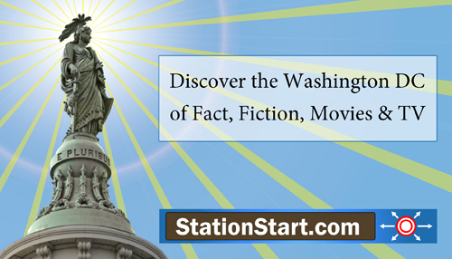 StationStart.com and Freedom Statute at the Top of the United States Capitol