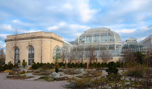 United States Botanic Garden, One of the Locations Used by Dan Brown in The Lost Symbol