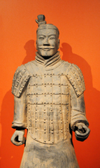Replica of Terra Cotta Warrior From the Qin Dynasty