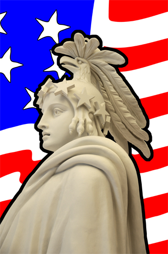 Plaster Model for Statute of Freedom - Model Located in the United States Capitol Visitor Center