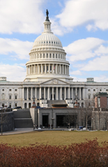 United States Capitol and Visitor Center Entrance - The Below Grade Visitor Center on the East Side of the Capitol is Accessible by Stairs or Ramp