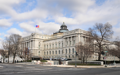 Library of Congress - Jefferson Building - Photograph taken from Southwest Corner of the Intersection of Independence Avenue SE and 1st Street SE