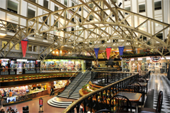 Food Court and Shops In the Old Post Office Pavilion