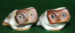 Tremar Pottery Baby Birds - Owl