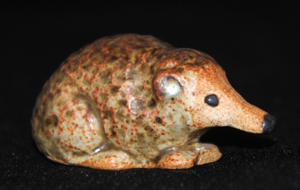 Tremar Pottery - British Wild Animals - Shrew