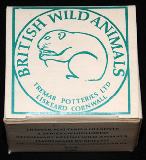 Tremar Pottery - British Wild Animals - Vole Box