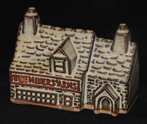 Tremar Pottery - The Miners Arms Money Box/Piggy Bank