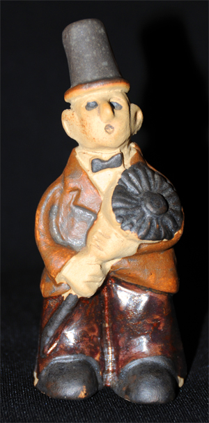 Tremar Pottery People Series - Chimneysweep or Chimney Sweep