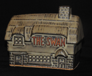 Tremar Pottery The Swan Money Box/Piggy Bank