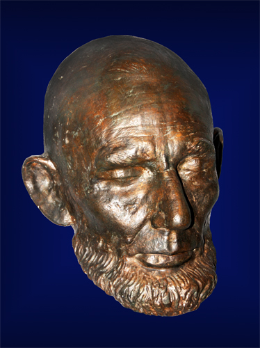 Life Mask of Abraham Lincoln Made February 11, 1865 - Displayed at Smithsonian Institution Museum of American History