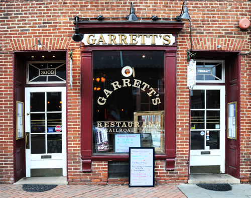 Garrett's Railroad Tavern - 3003 M Street NW, Washington, DC in Georgetown