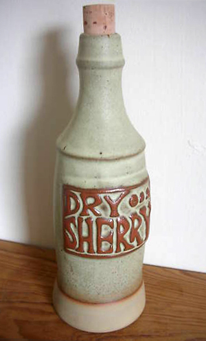 Tremar Pottery - Decanter/Bottle, Sherry, Dry - Photo by pilgrim-lee on www.ebay.co.uk