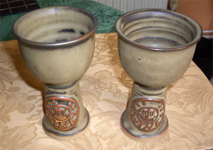 Tremar Goblets for Wine - Photo by 18carotgold on ebay.co.uk