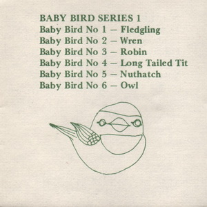 Tremar Pottery Multi-Series Green Ink Insert - Page 6 - Baby Bird Series I