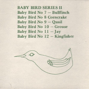 Tremar Pottery Multi-Series Green Ink Insert - Page 7 - Baby Bird Series II