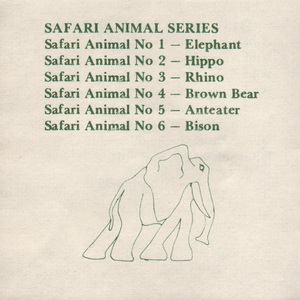 Tremar Pottery Multi-Series Green Ink Insert - Page 10 - Safari Animal Series