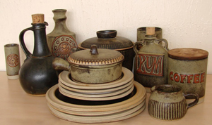 Tremar Pottery - Various Kitchen Pieces - Photo by 6965pauline on www.ebay.co.uk