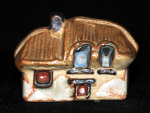 Tremar Pottery Little Building Series - Thatched Cottage - Front