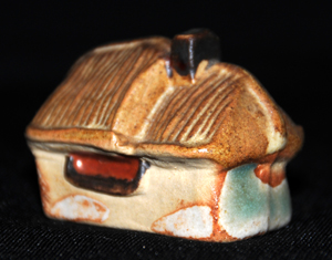 Tremar Pottery Little Building Series - Thatched Cottage - Back