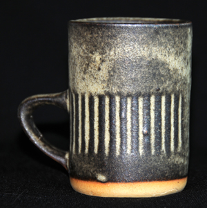 Tremar Pottery Mug - Geometric Design