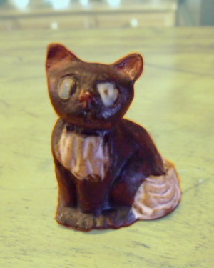 Tremar Pottery Cat – For the time being known as Cat 1