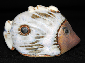 Tremar Pottery Tropical Fish - Mock Eye (No. 2)