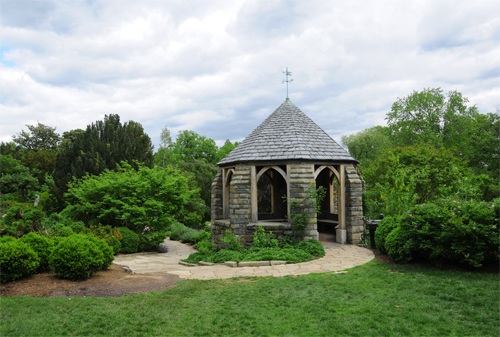 Shadow House - Secluded Gazebo Located in the Bishop's Garden at the National Cathedral in Washington DC
