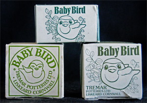 Three Different Boxes Used for the Fledgling in the Baby Bird Series