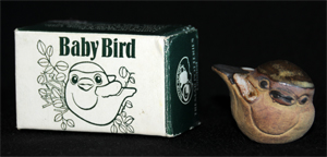 Multi-Use Box - Shows the Fledgling Using the Same Realistic Drawing Used on the Open Drawing Box