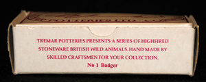 Circle Drawing Box - This is the front panel of the badger box from the British Wild Animal Series.