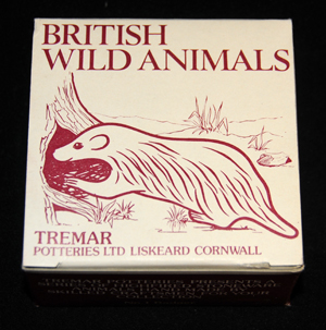 Open Drawing Box - This box shows the badger from the British Wild Animal Series on the Open Drawing Box.