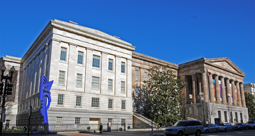 Smithsonian Institution's National Portrait Gallery, 801 F Street NW, Washington, D.C. 20004