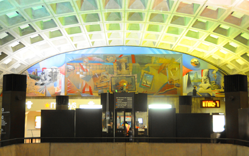 Mural At Metro Center - Full Mural